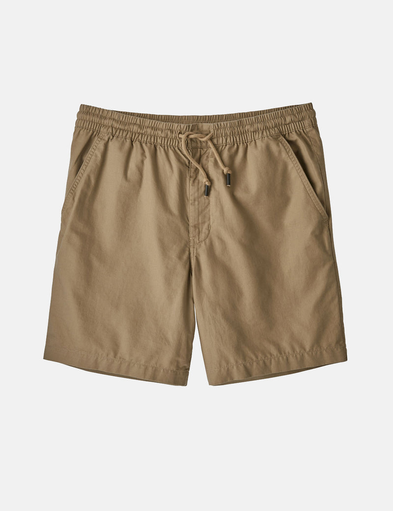 Patagonia All-­Wear Hemp Volley Shorts - Mojave Khaki Beige