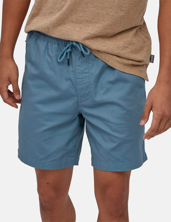 Patagonia All-­Wear Hemp Volley Shorts - Pigeon Blue