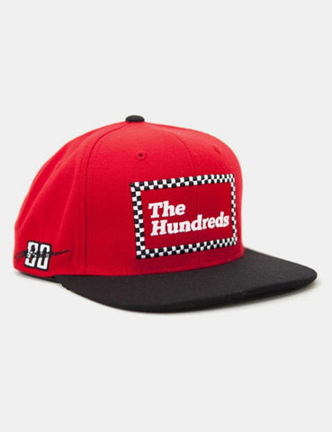 The Hundreds Dale Snapback Cap - Red