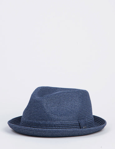 Bailey Billy Trilby Hat - Navy Blue