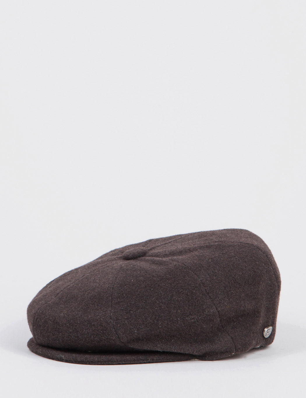 Bailey Galvin Wool Newsboy Cap - Brown - Brown / Small (54-55cm)