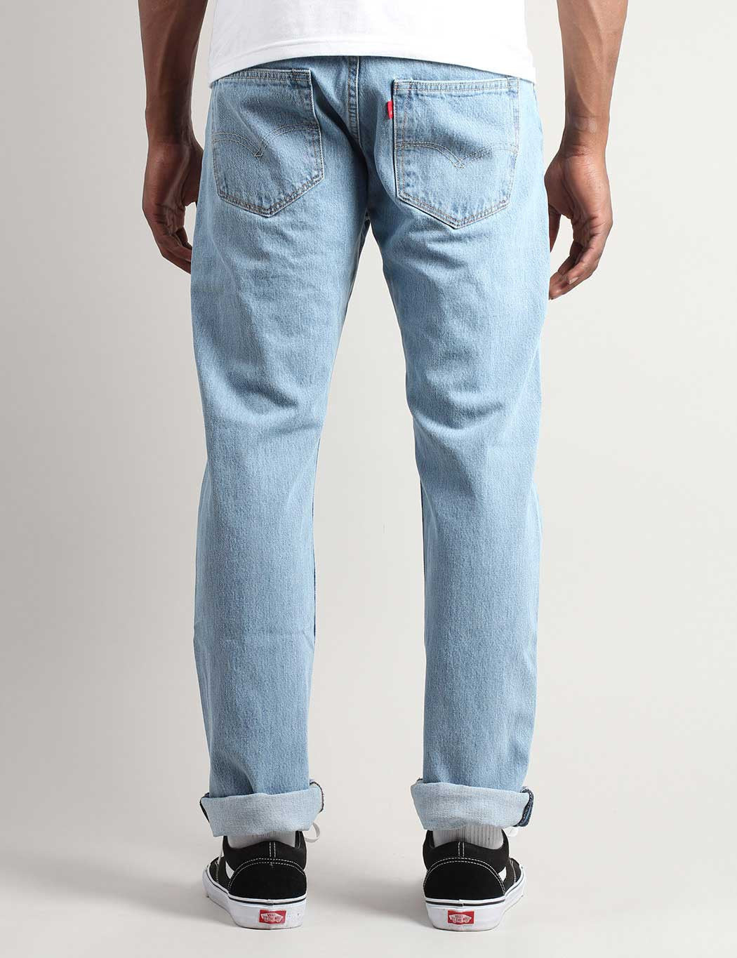 a6f93b29a68 Levis 501 Straight Fit Jeans - Light Broken In  Levis 501 Original ...