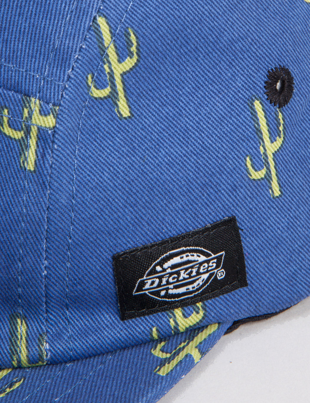 Dickies Florida City Cactus 5-Panel Cap - Blue