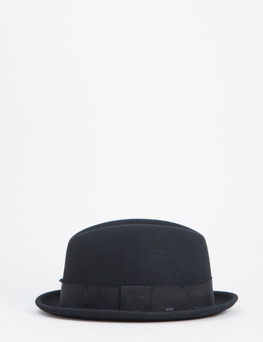 Bailey Timson Centre Crease Tribly Hat - Black