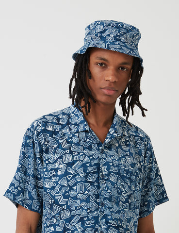 Stan Ray Fillmore Bucket Hat - Tom Tom Batik Indigo
