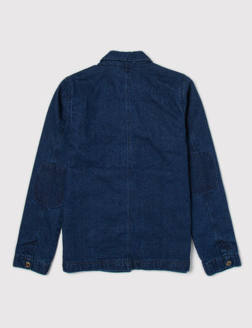 Bellfield Tempest Worker Denim Jacket - Blue