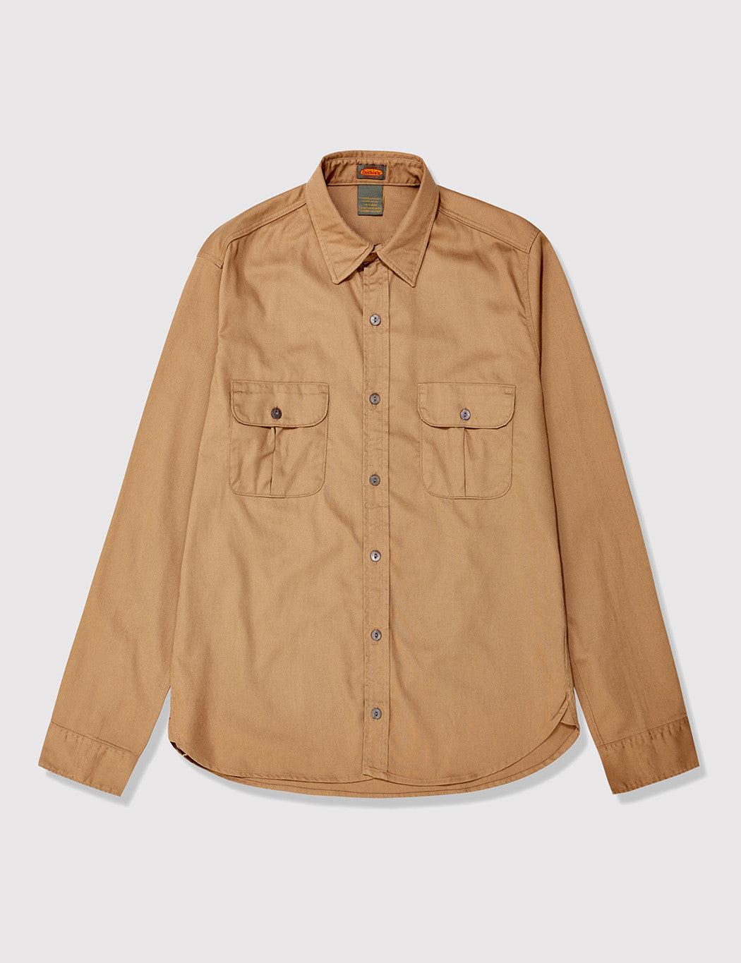 Dickies 1922 Made in USA Rinsed Shirt - Suntan