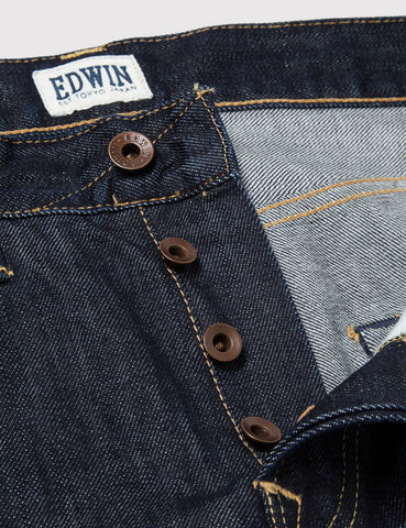 Edwin ED-55 Relax Tapered 12oz - Dark Blue Rinsed