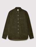 Levis Sunset One Pocket Shirt (Cord) - Olive