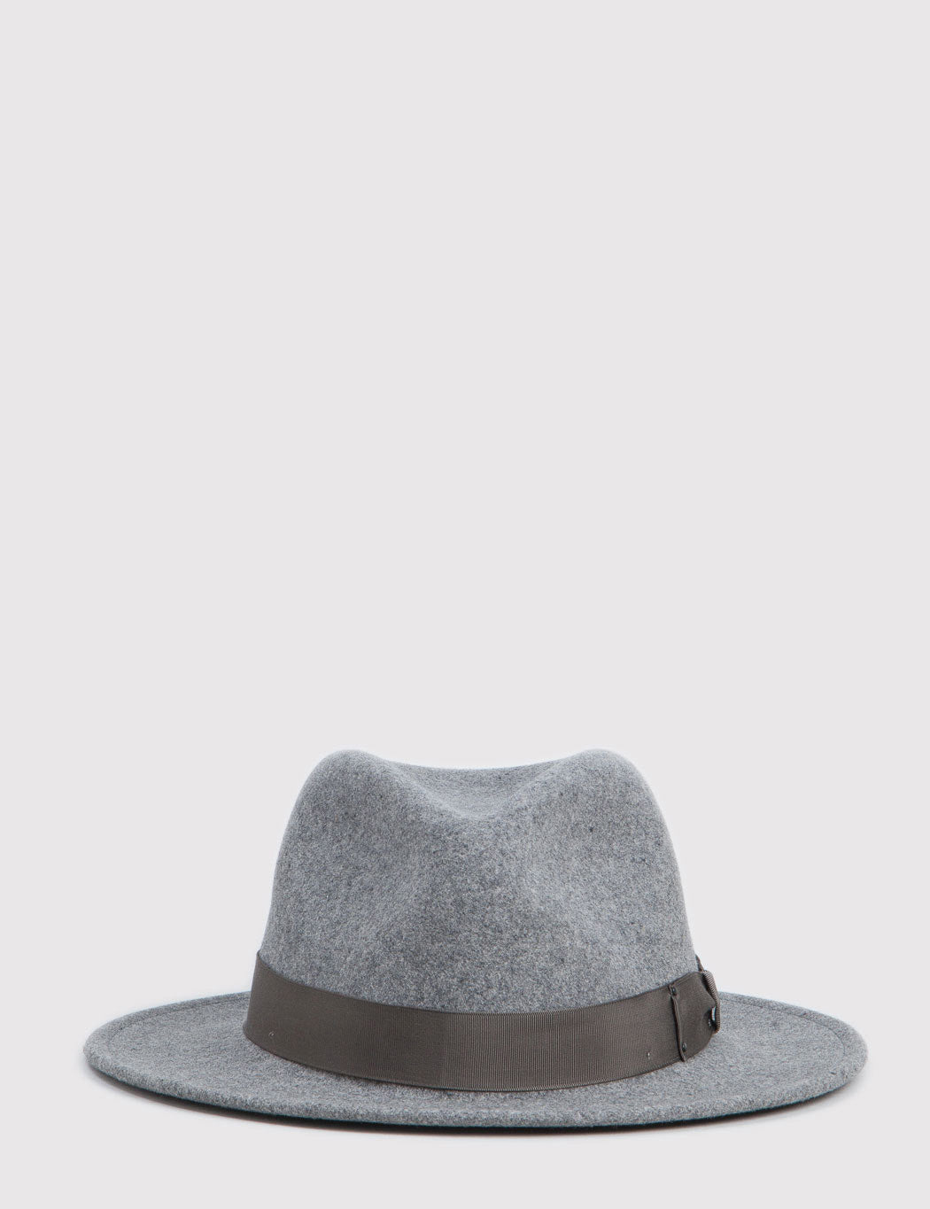 Bailey Curtis Widebrim Fedora Hat - Oxford Grey Mix