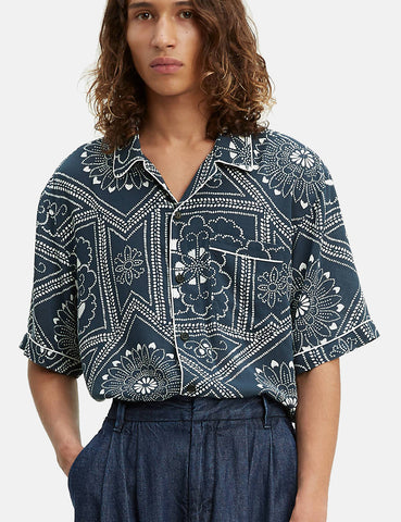 Levis Made & Crafted Pajama Shirt - Bandana Blues/Blue