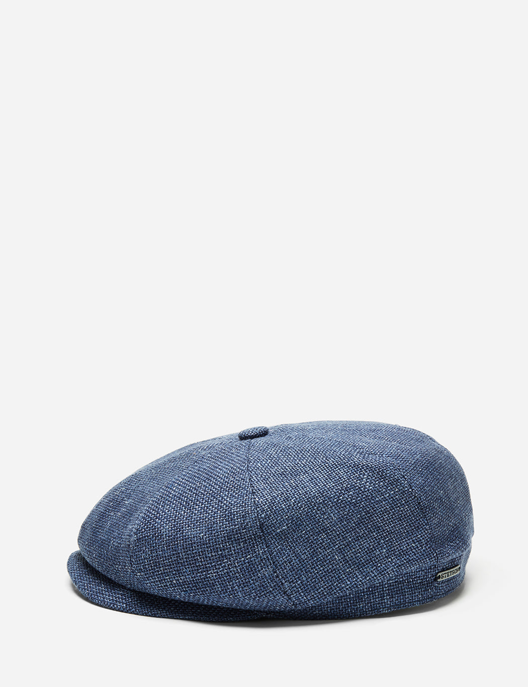 a85370213cb Stetson Hatteras Ellington Newsboy Cap (Silk Wool) in Mottled Blue