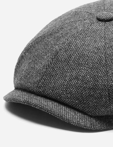 Stetson Hatteras Donegal Newsboy Cap (Wool Mix) - Grey