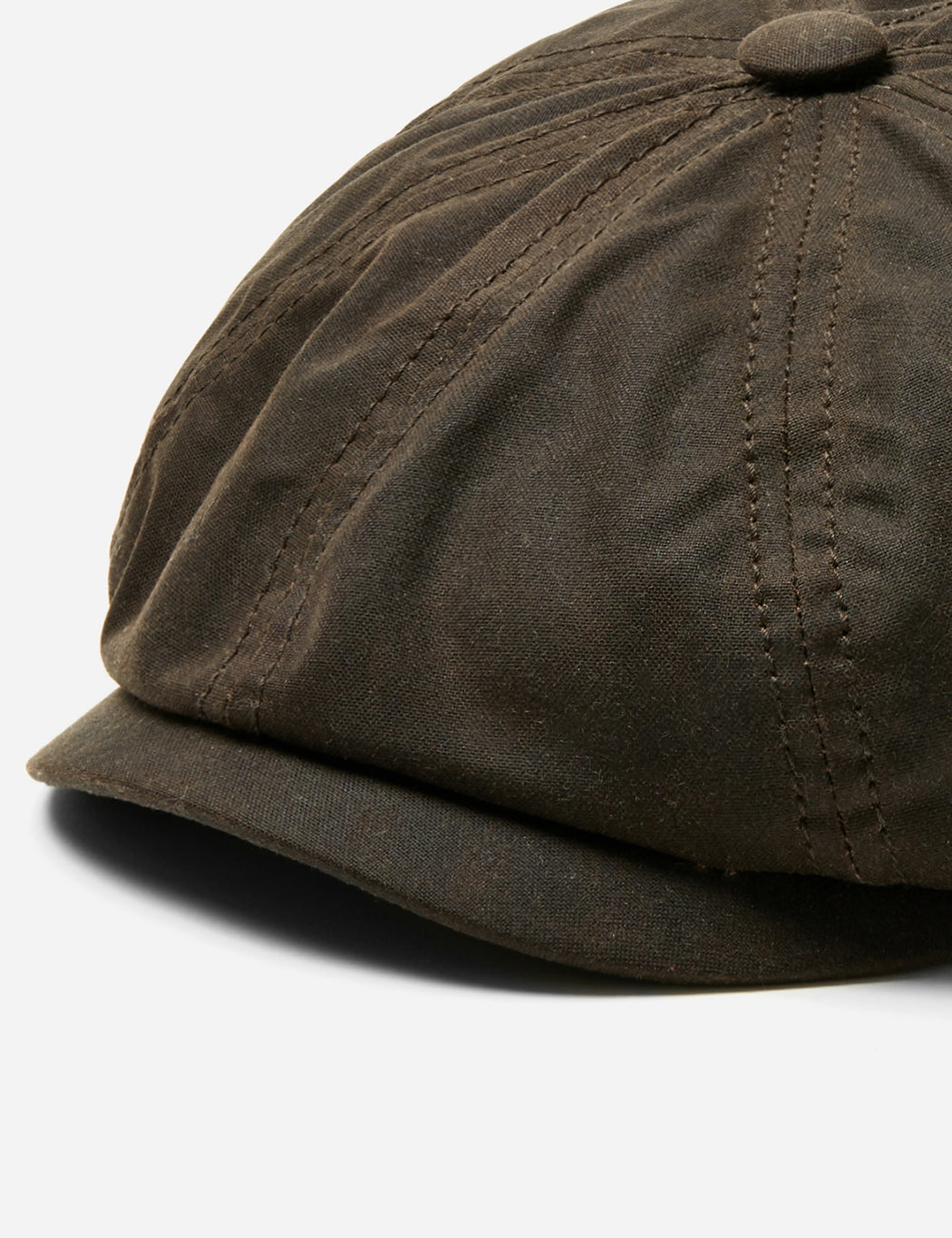 7ed151f5701 Stetson Hatteras Newsboy Cap (Waxed Cotton) - Dark Brown – URBAN EXCESS