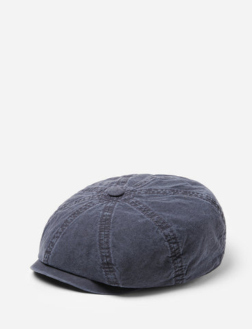 Stetson Hatteras Newsboy Cap (Cotton) - Blue