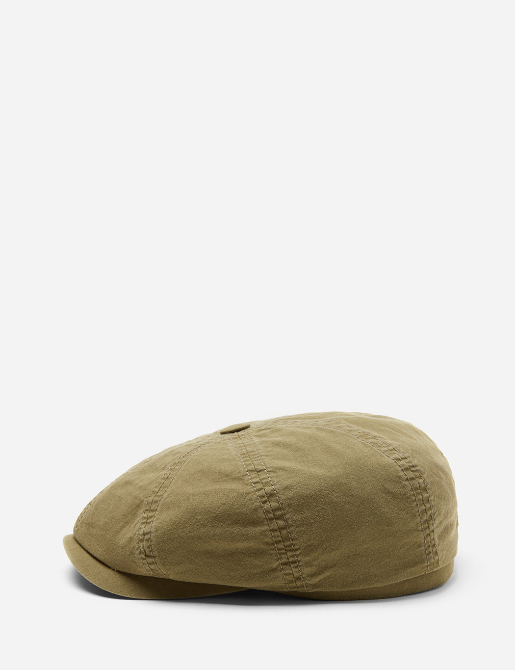 a5ff192af45 Stetson Hatteras Cotton Newsboy Cap (Cotton) in Olive Green