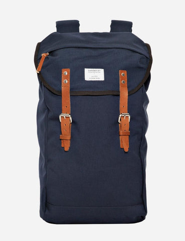Sandqvist Hans Backpack - Navy Blue