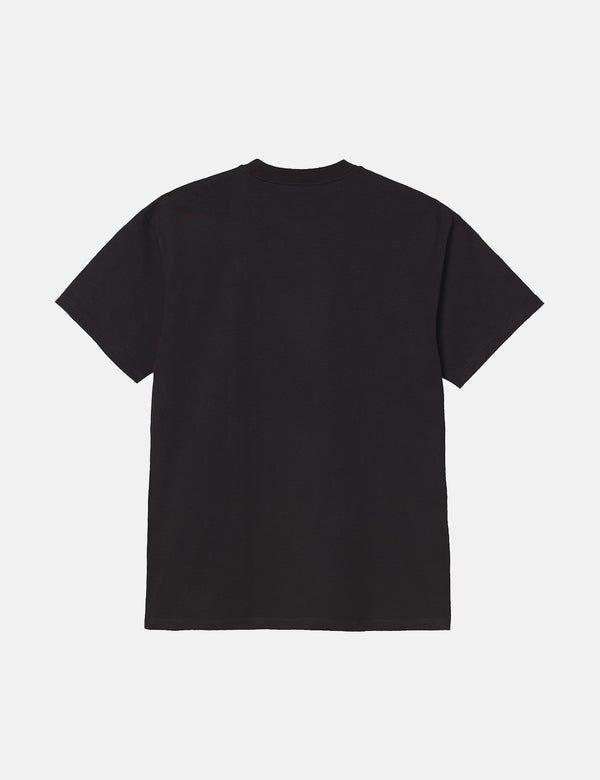 T-Shirt Carhartt-WIP Heat Wave - Noir