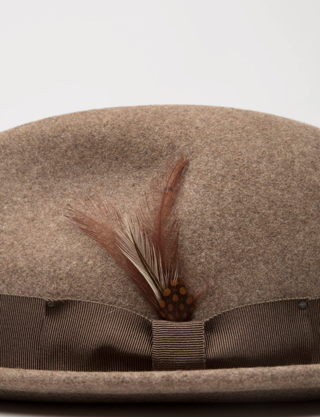 Bailey Tino Felt Tribly Hat - Medium Brown