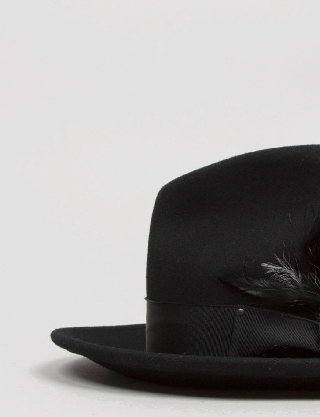 Bailey Blixen Widebrim Fedora Hat - Black