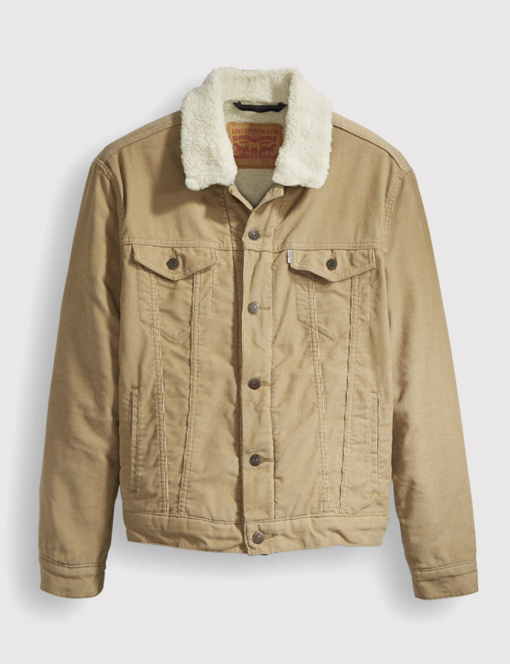 Levis Good Sherpa Trucker - Khaki