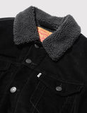 Levis Good Sherpa Trucker Jacket - Black