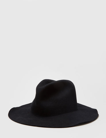 Bailey Inglis Widebrim Fedora Hat - Black