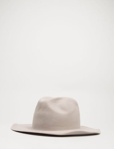 Bailey Inglis Widebrim Fedora Hat - Silver Belly