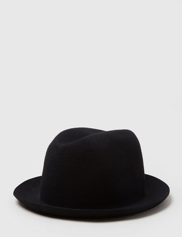 Bailey Chipman Fedora Hat - Black
