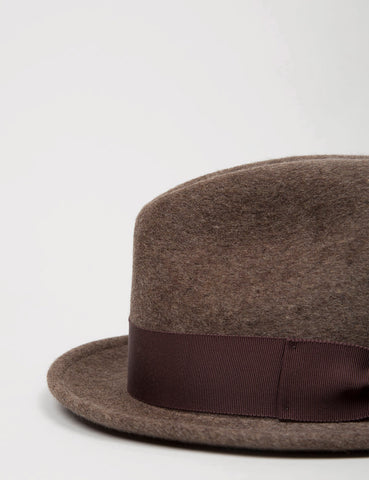 Bailey Riff Felt Tribly Hat - Mink
