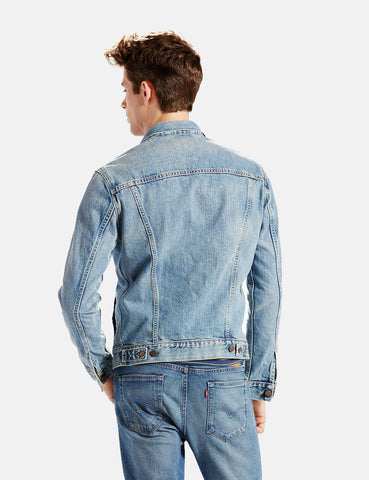 Levis Denim Trucker Jacket - Icy Blue