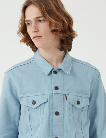 Levis Denim Trucker Jacket - Sky Blue