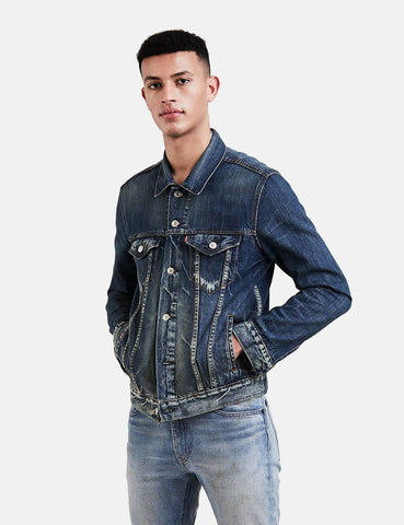 Levis Denim Trucker Jacket - Danico Blue