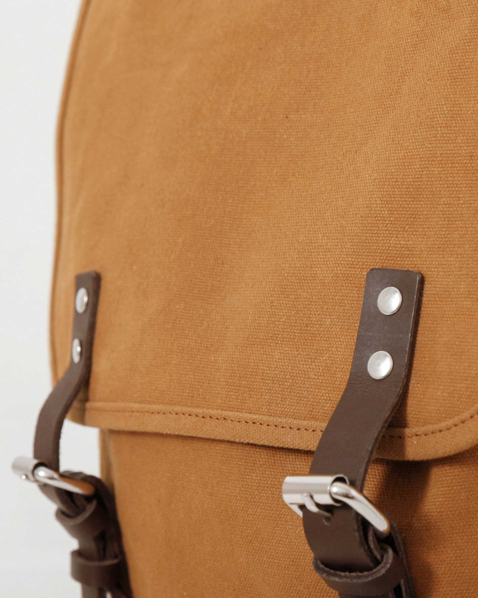 Sandqvist Bob Backpack - Waxed Khaki
