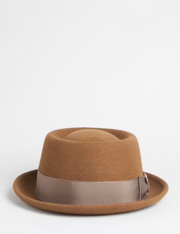 Bailey Darron Pork Pie Hat - Tobacco