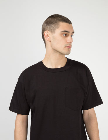 Lifewear USA Pocket T-Shirt (8oz) - Black
