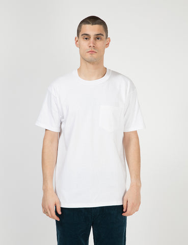 Lifewear USA Made Pocket T-Shirt (8oz) - White