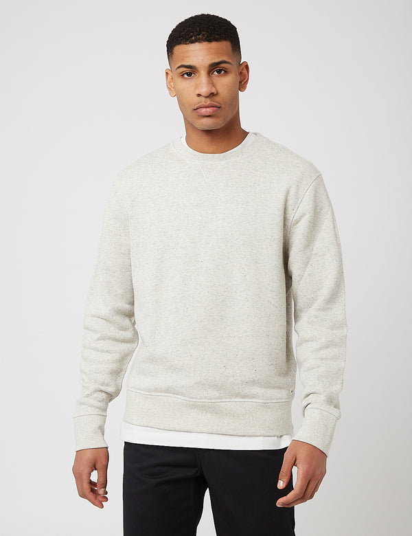 Levis Made & Crafted Relaxed Crewneck Sweat - Grey Heather