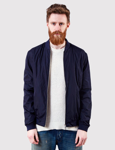Gant Rugger Airy Bomber Jacket - Navy Blue