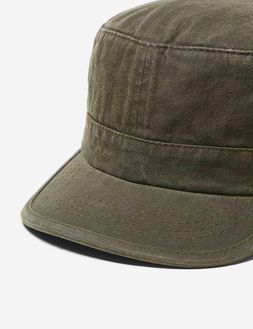 93395c87 Stetson Army Cap (Cotton) - Washed Olive | URBAN EXCESS.