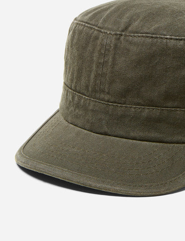 Stetson Army Cap (Cotton) - Washed Olive