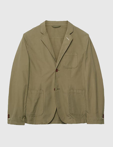 Gant Rugger Cotton Blazer Jacket - Highland Green