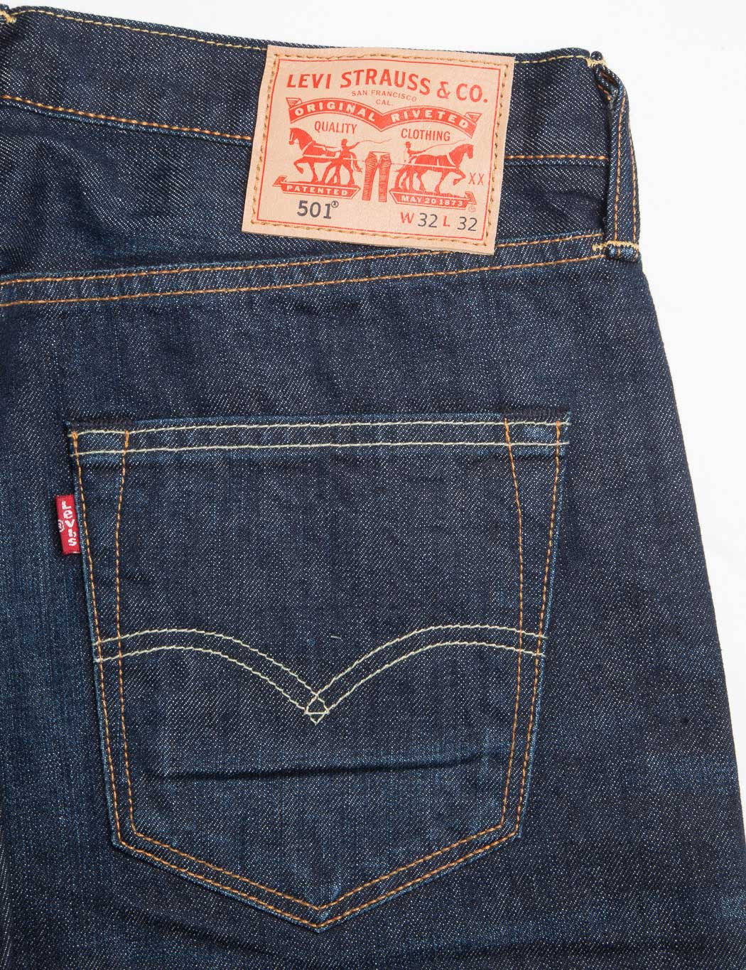 Levis 501 Original Fit Jeans - Blue Lane