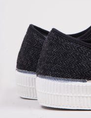 Novesta Star Master Wool Trainers - Black