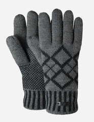 Barts Erik Gloves - Dark Heather