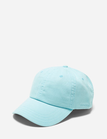 Stetson Curved Peak Baseball Cap - Aqua Blue