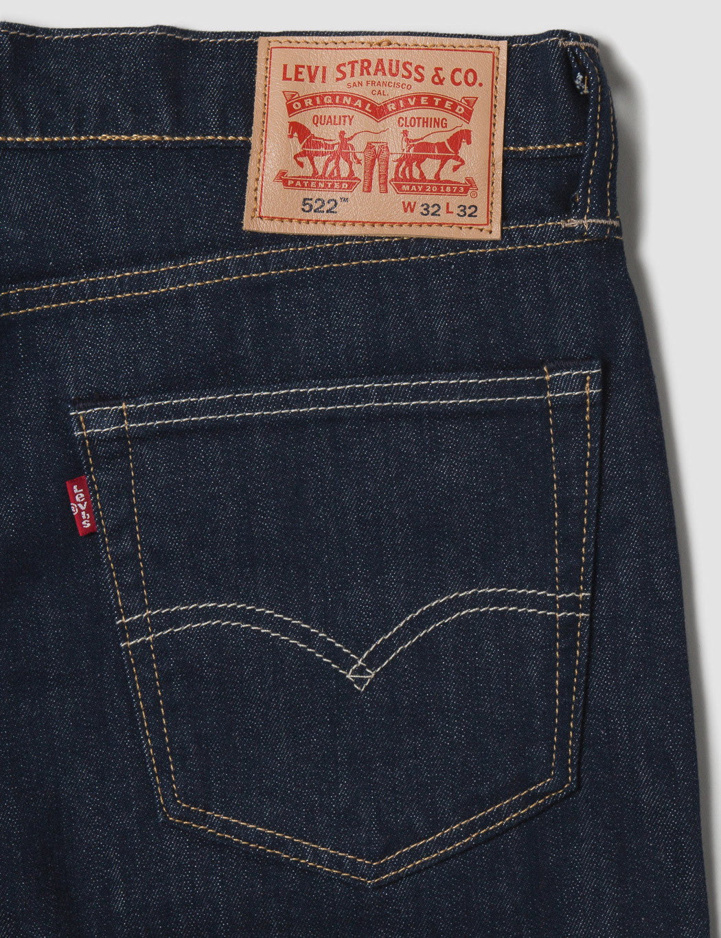 Levis 522 Slim Taper Jeans - Big Bend
