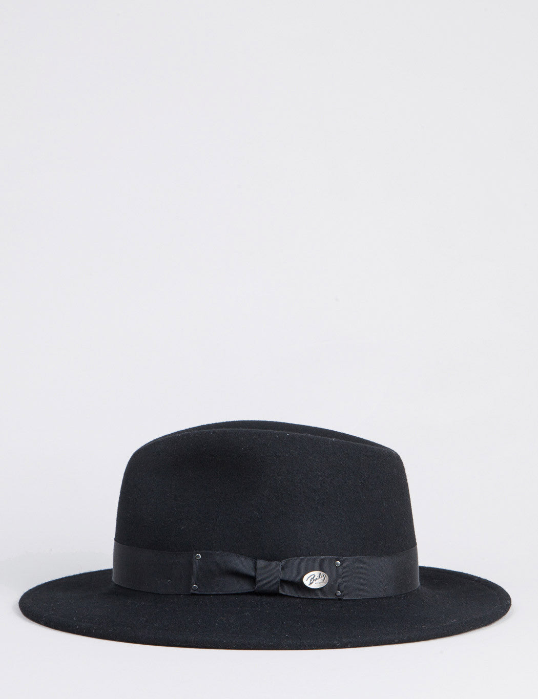 Bailey Curtis Widebrim Fedora Hat - Black – URBAN EXCESS 00cf3cd76131