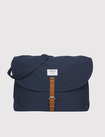 Sandqvist Jack Ground Messenger Bag - Blue