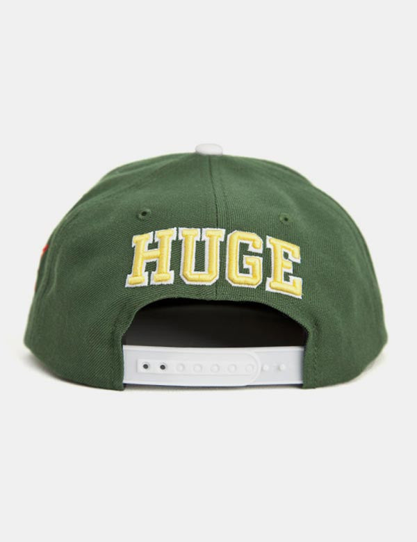 The Hundreds Player Snapback Cap - Green
